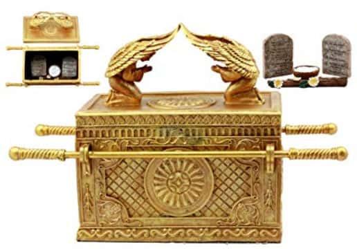 「契約の箱」と宝蔵された「三種の神器」