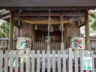おのころ島神社・八百萬神社 拝殿