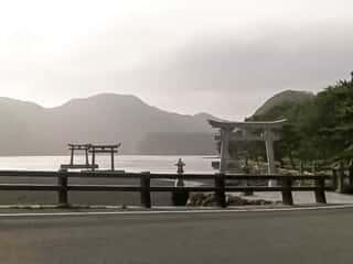 和多都美神社の鳥居