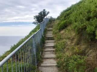 オロンコ岩への道