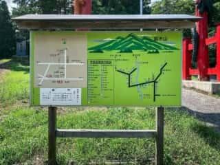 大石神社 案内図