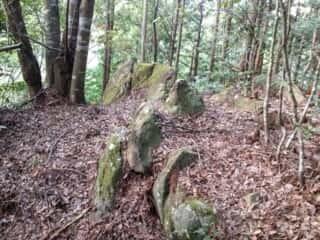 瀧尻王子宮裏の列石