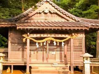 和多都美神社 社殿