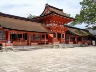 宇佐神宮上宮の南中楼門