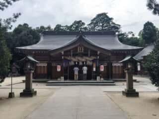八重垣神社 拝殿