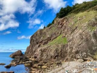 願掛岩からの景色