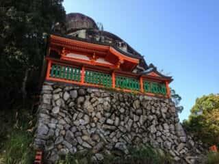 神倉神社 拝殿