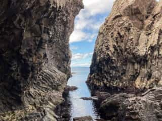 願掛岩周辺の岩場