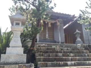 宮ヶ島 衣毘須神社 拝殿