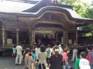 天岩戸神社 神楽殿