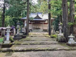 大石神社 参道