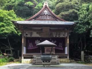 大龍寺 奥の院大師堂