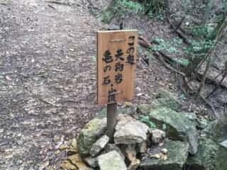 大龍寺 奥の院 天狗岩 亀の石