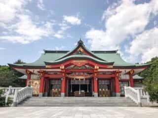 樽前山神社 拝殿