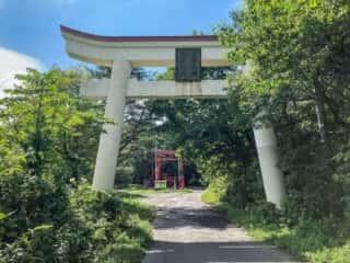 大石神社 鳥居