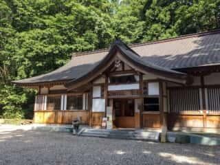戸隠神社中社 宝物館