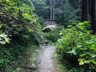 宝珠山立石寺の参道