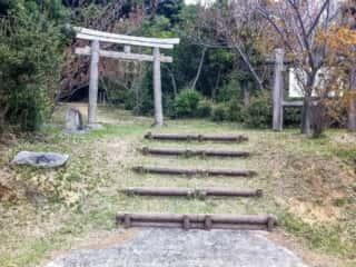 舟木石上神社 鳥居