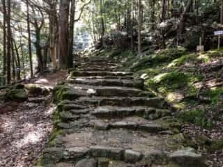 神倉神社 参道の石段