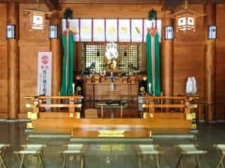 天岩戸神社 拝殿