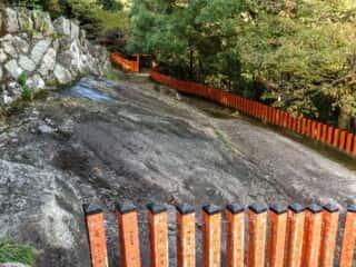 神倉神社 御神体の磐座