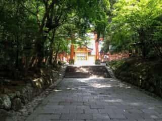 宇佐神宮 西大門への鳥居