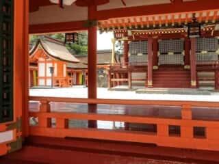 宇佐神宮上宮本殿 一之御殿 春日神社と北辰神社