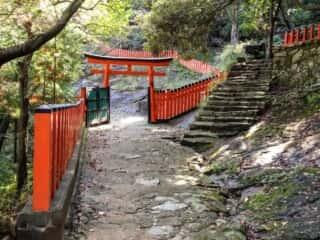 神倉神社 参道