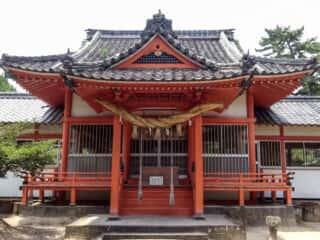 奈多宮神社 拝殿