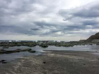 千畳敷海岸の光景