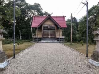 川湯神社の拝殿
