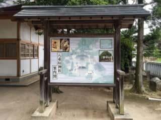 八重垣神社 案内図