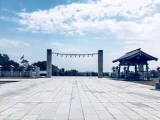 樽前山神社の境内
