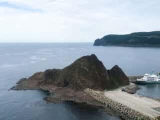 オロンコ岩からの眺め