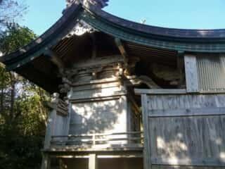 伊島の自然 当所神社 本殿