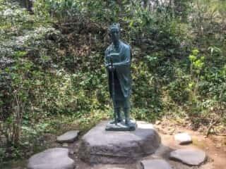 中尊寺 芭蕉翁像
