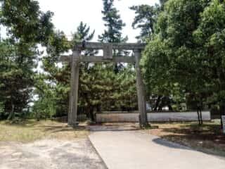 奈多宮神社 鳥居