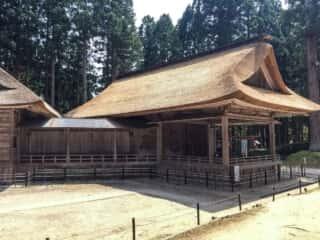 白山神社 能楽殿