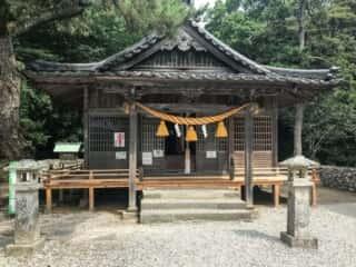 和多都美神社 拝殿
