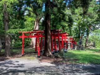 大石神社 参道の鳥居