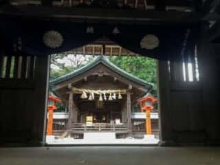 宗像大社中津宮 拝殿