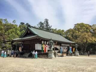 伊弉諾神宮 拝殿