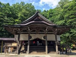 戸隠神社中社 拝殿